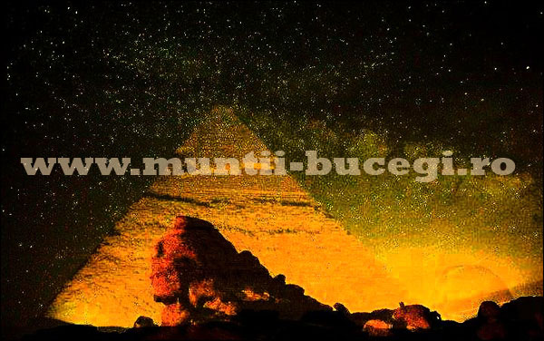 The Sun's Pyramid Miracle in Bucegi